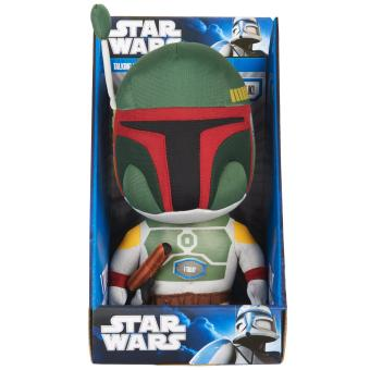 star wars peluche parlante boba fett star wars objet d riv achat prix fnac. Black Bedroom Furniture Sets. Home Design Ideas