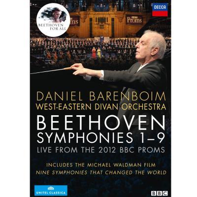 Symphonies 1 à 9 live from the 2012 BBC Proms DVD