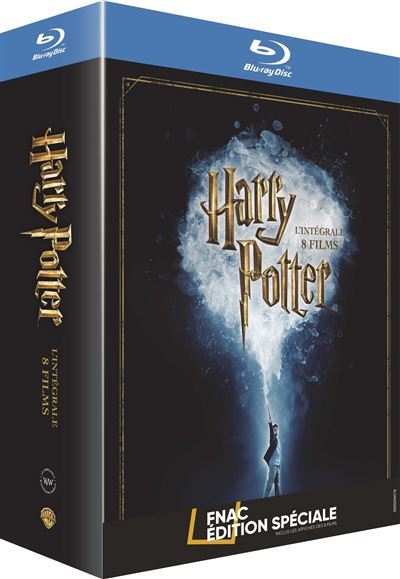 Harry Potter Lintégrale des 8 films Edition spéciale Fnac Blu-ray