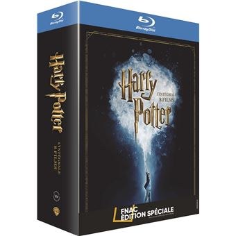 harry potter harry potter l int grale des 8 films edition sp ciale fnac blu ray coffret dvd. Black Bedroom Furniture Sets. Home Design Ideas