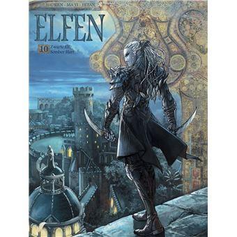 Elfen - Zwarte elf, somber hart