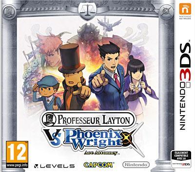 Professeur Layton Vs Phoenix Wright : Ace Attorney - Nintendo 3DS