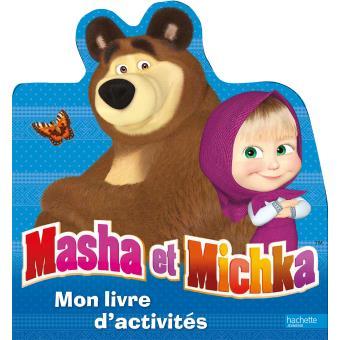masha et michka activit s d couper broch collectif. Black Bedroom Furniture Sets. Home Design Ideas