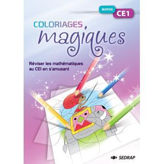 Fichier coloriage magique maths ce1 broch collectif sedrap achat livre achat prix fnac - Coloriage maths ce1 ...