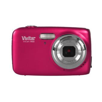 compact vivitar vx022 rose appareil photo num rique. Black Bedroom Furniture Sets. Home Design Ideas