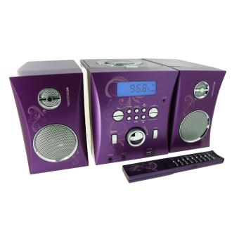 microchaine cd mp3 usb violet jouet multim dia achat prix fnac. Black Bedroom Furniture Sets. Home Design Ideas