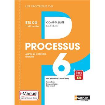 Processus 6 BTS CG 1ère et 2ème années (Les processus CG) Livre + Licence élève - 2017