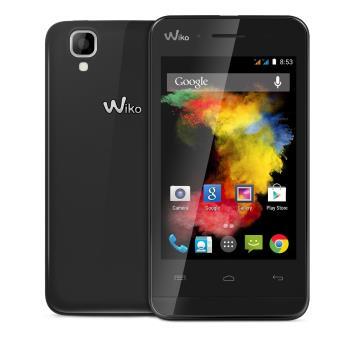 smartphone wiko goa 3g et wifi double sim 4 go noir smartphone sous android os achat. Black Bedroom Furniture Sets. Home Design Ideas