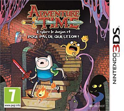 Adventure Time 3DS - Nintendo 3DS