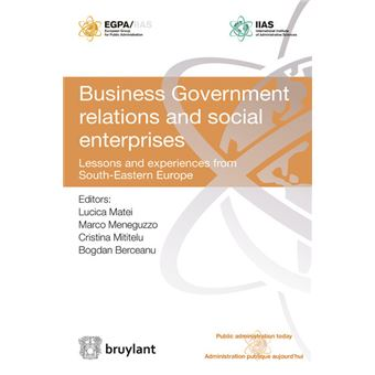 business government relations Based on the evidence from morocco and tunisia, this article contends that  different patterns of business–government relations facilitate different elements of .