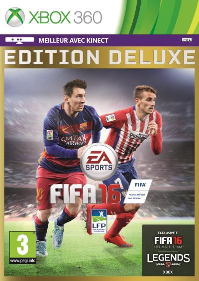 FIFA 16 Deluxe Xbox 360 - Xbox 360