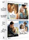 Coffret Nicholas Sparks : Une seconde chance + N'oublie jamais + Cher John + Un havre de paix - Pack (DVD)