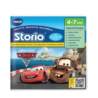 jeux storio vtech cars 2 jeu d couverte achat prix. Black Bedroom Furniture Sets. Home Design Ideas