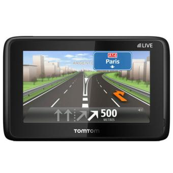 gps tomtom go live 1000 reconditionn europe 45 pays 1 an de services live offert gps. Black Bedroom Furniture Sets. Home Design Ideas