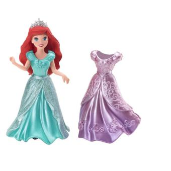 Disney Princesses  X9406  Mini Poupée  Mini Ariel et sa Tenue
