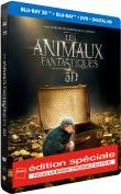Les Animaux Fantastiques Edition Spéciale Fnac Steelbook Blu-ray 3D + 2D