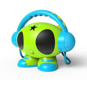 lecteur portable mp3 usb bigben matt avec m moire int gr bleu jaune vert jouet musical. Black Bedroom Furniture Sets. Home Design Ideas