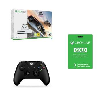pack console microsoft xbox one s 1 to forza horizon 3. Black Bedroom Furniture Sets. Home Design Ideas