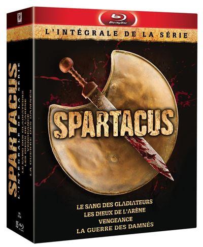 Spartacus Saisons 1 à 3 Coffret Blu-Ray