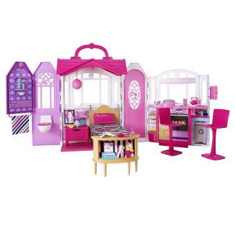 Ma maison emporter barbie maison de poup e achat for Accessoires maison barbie