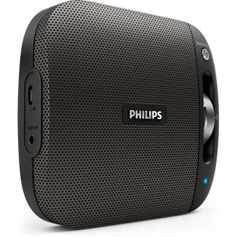 enceinte philips bt2600 sans fil noir mini enceintes achat prix fnac. Black Bedroom Furniture Sets. Home Design Ideas