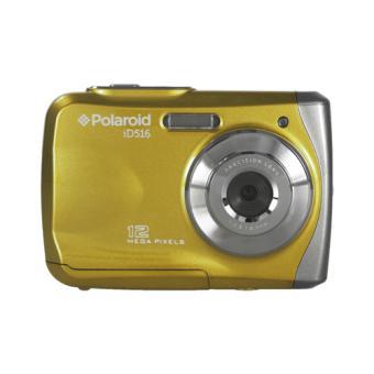 compact polaroid waterproof id516 jaune appareil photo. Black Bedroom Furniture Sets. Home Design Ideas