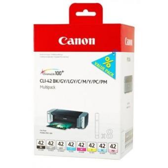 Pack de  cartouches Canon Multipack CLI pour Imprimante Pixma Pro a w