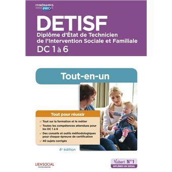 DETISF, Domaines de compétence 1 à 6, Préparation complète pour reussir sa formation