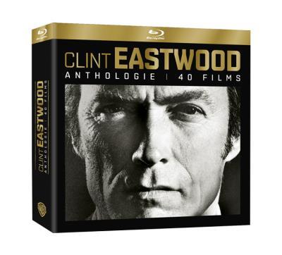 Coffret Anthologie Clint Eastwood 40 films Blu-ray