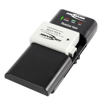 chargeur universel ansmann pour photocam vario noir chargeurs piles rechargeables acheter. Black Bedroom Furniture Sets. Home Design Ideas