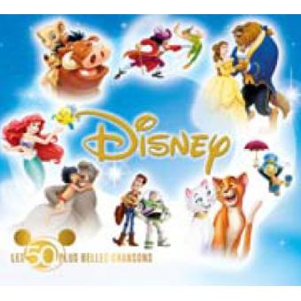 les 50 plus belles chansons disney disque pour enfants cd album. Black Bedroom Furniture Sets. Home Design Ideas