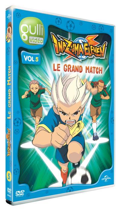 Inazuma 11 Volume 5 : Le grand match DVD