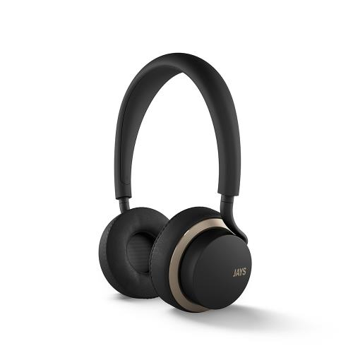 Casque Audio Jays U-Jays pour iOS Noir/Or