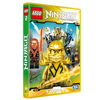 lego ninjago les matres du spinjitzu saison 2 2 dvd