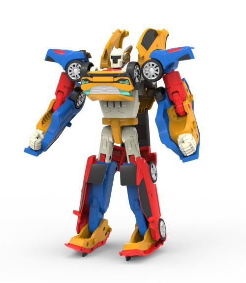 La version Mini du Tritan est arrivée ! Ce Tobot 4 en 1 est la fusion du Tobot X, Tobot Y et Tobot Z. Il passe du mode robot au mode voitures en se scindant distinctement en Tobot X, Tobot Y et Tobot Z. Fonctionne sans pile.