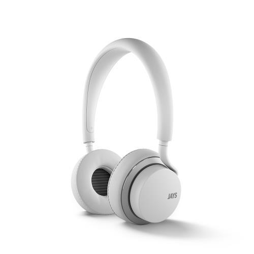 Casque Audio Jays U-Jays pour iOS Blanc/Argent