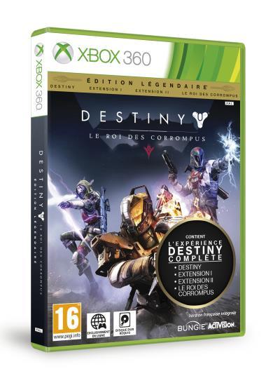 Destiny Edition Légendaire Le Roi des Corrompus Xbox 360 - Xbox 360