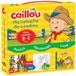 Caillou - Caillou, Livre avec puzzle 2 en 1