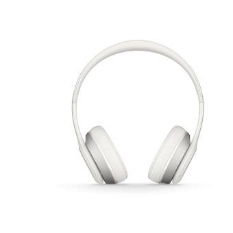 casque beats solo 2 wireless blanc casque audio meilleur prix. Black Bedroom Furniture Sets. Home Design Ideas