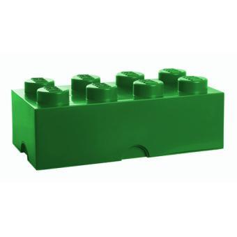 brique de rangement vert 8 plots lego sablon accessoire. Black Bedroom Furniture Sets. Home Design Ideas