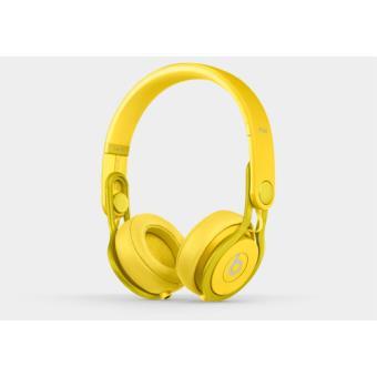 casque beats mixr color jaune casque audio achat prix fnac. Black Bedroom Furniture Sets. Home Design Ideas