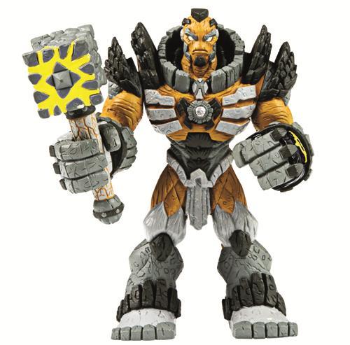 Figurine Articulée Gormiti CGI de 20 cm. Choisis ton personnage, charge son mécanisme et active son attaque pour tout dévaster.