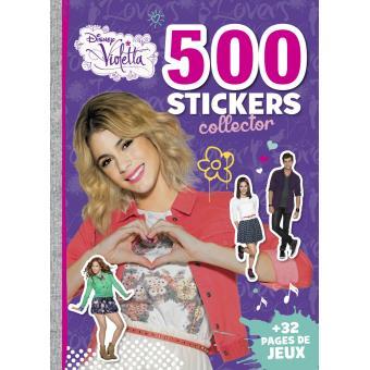 Violetta 500 stickers edition collector violetta - Jeux gratuit de violetta ...