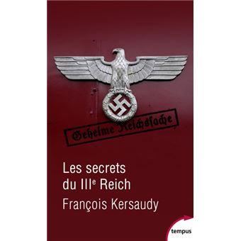 Les secrets du IIIème Reich poche François Kersaudy Achat