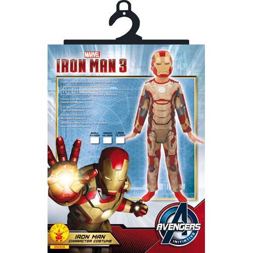 Fnac.com : Déguisement classique Iron Man 3 Taille S - Déguisement enfant. Achat et vente de jouets, jeux de société, produits de puériculture. Découvrez les Univers Playmobil, Légo, FisherPrice, Vtech ainsi que les grandes marques de puériculture : Chicc