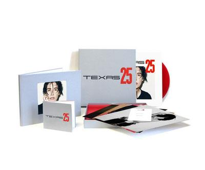 Texas 25,Boxset Deluxe Limitée t et numérotée signée par Sharleen