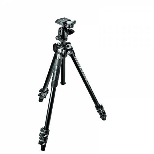 Kit trépied Manfrotto MK290LTA3 + Rotule ball 494RC2