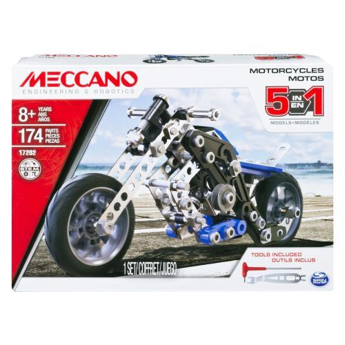 Une superbe motocross à construire pour des courses folles ! 5 modèles à construire. 2 outils et notice de montage inclus.