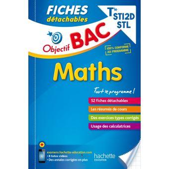 Cours Maths Terminale Sti2d