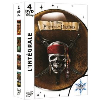 Pirates des Caraïbes - Coffret de la Tetralogie